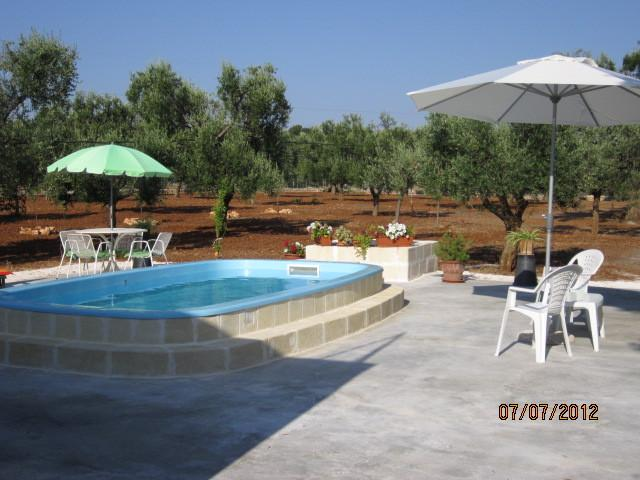 Lovely Private Pool Sun and Shade in the Olive Grove