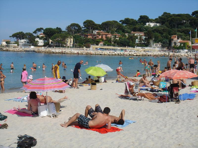 La Salis beach and port, Cap d'Antibes
