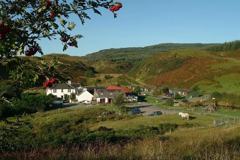 Lodges, chalets and private rental houses at Cologin Farm