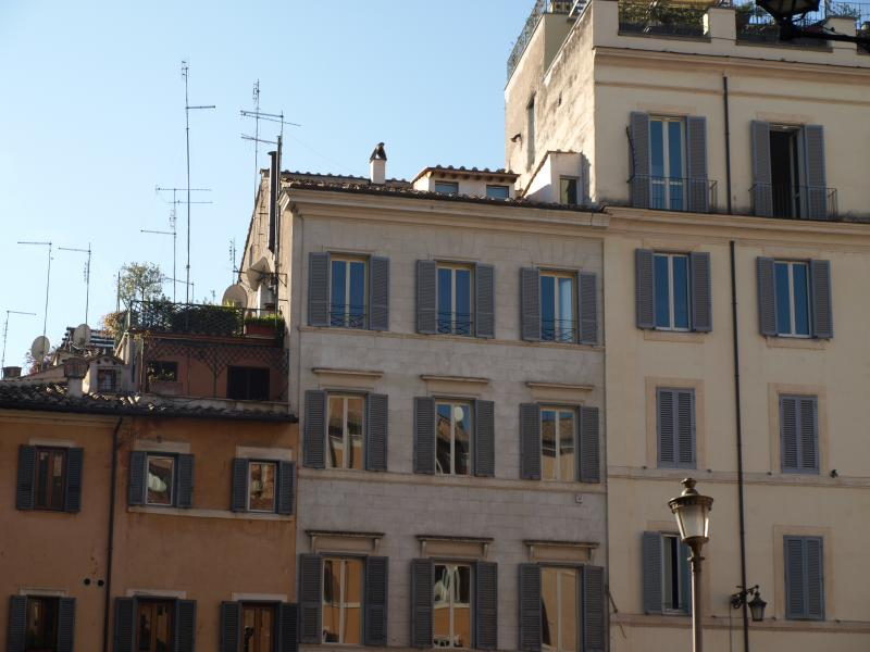 apartment and terrace (top floor) from campo de fiori