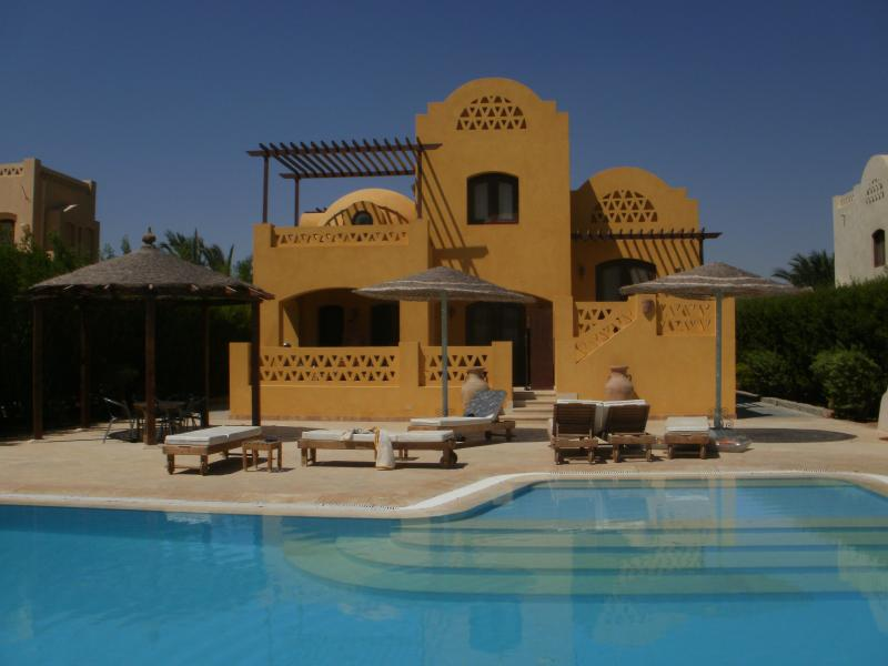 View of Villa and Private Pool