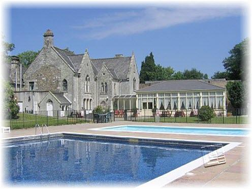 Old Manor House and pool