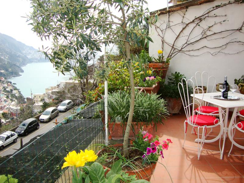 The Sunny Terrace with Sea View