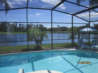 The View from The Private pool Deck Overlooking The Private Fishing Lake