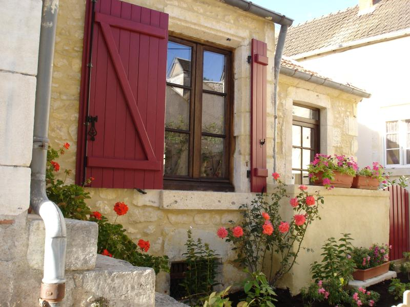 Stone cottage on the Loire in Burgundy wine country!