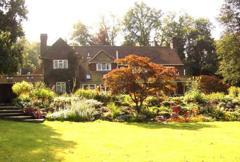 View of house from garden