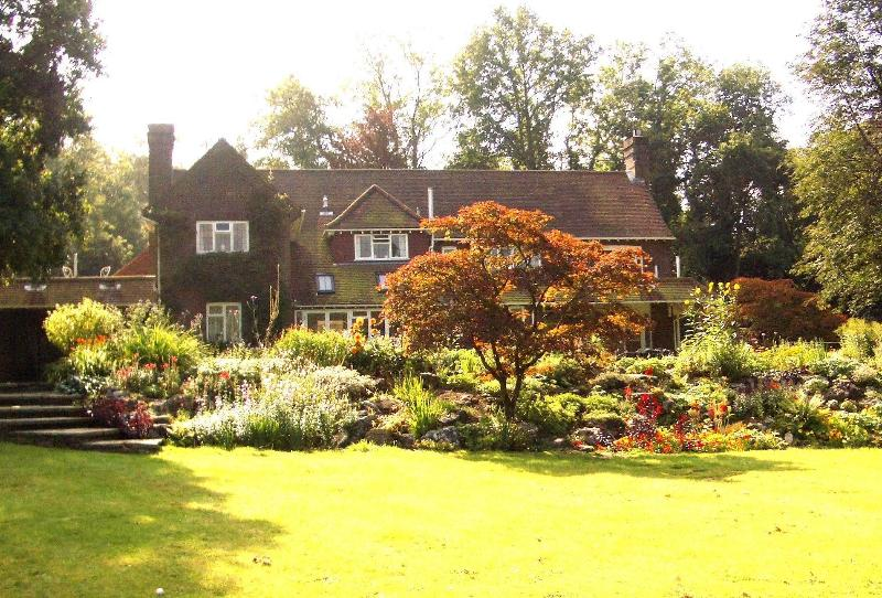 Garden view of the house