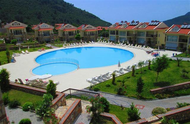 Pool with views of the stunning Babadag mountains