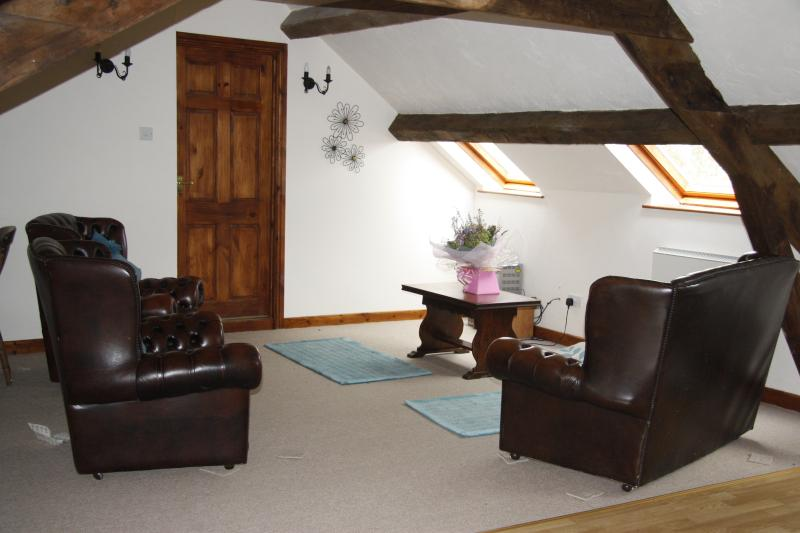Lounge and seating area
