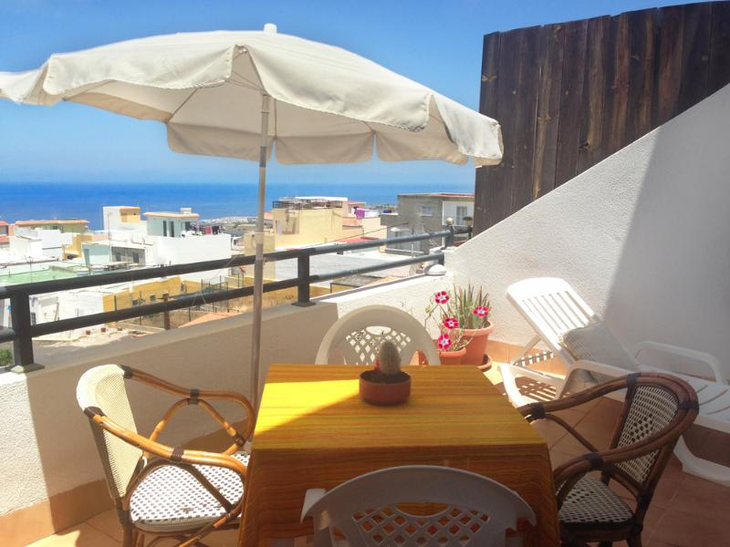15 mq terrace with ocean panoramic view