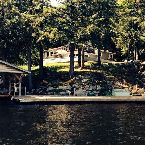 2800 sq ft Post & Beam Executive Cottage from Lake Muskoka