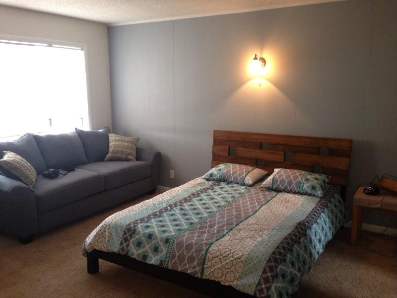 Queen size bed and Sealy sleeper sofa