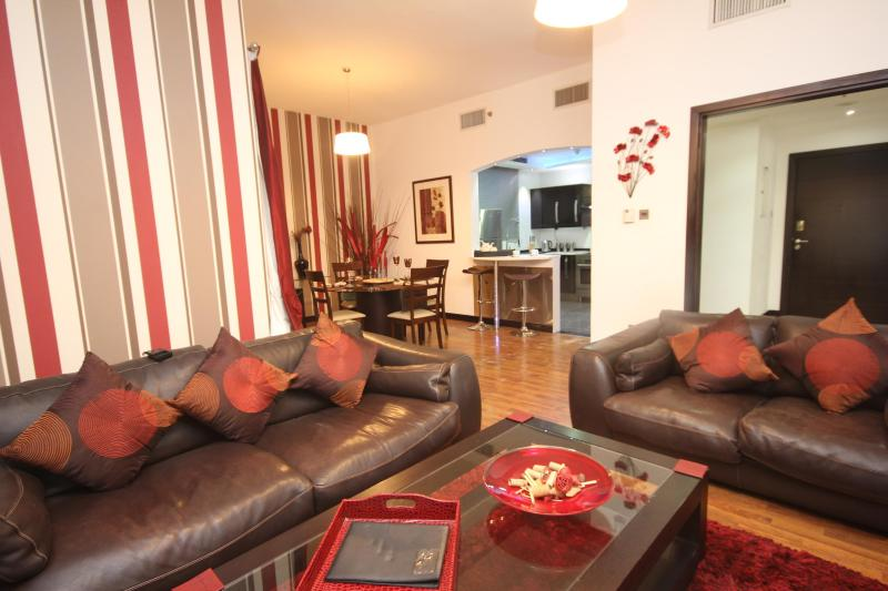 Large Living Room with direct views to the marina