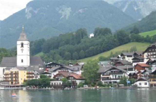 View of St.Wolfgang