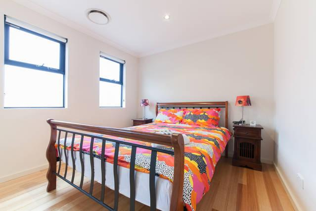 Comfy queen bed, built in robe, aircon and large safe