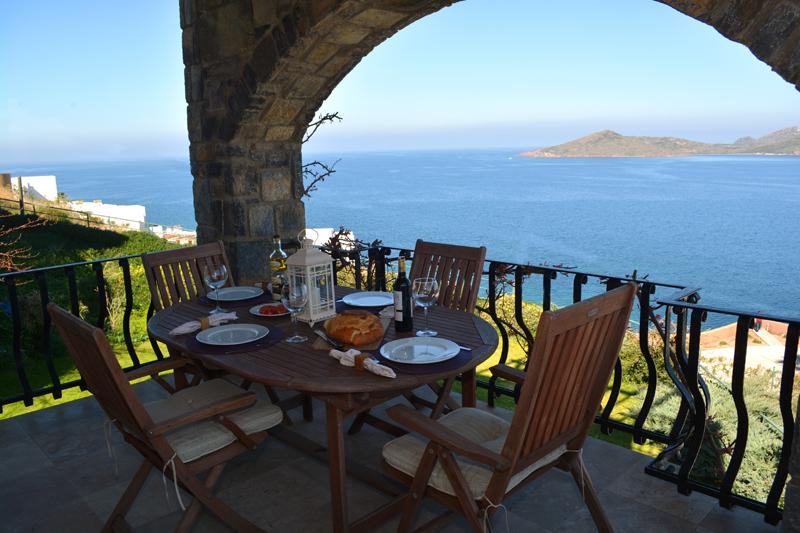 Stunning sea and hillside views from Sunseaker's balconies - just superb