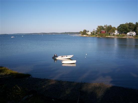 View of the Cove from waters edge