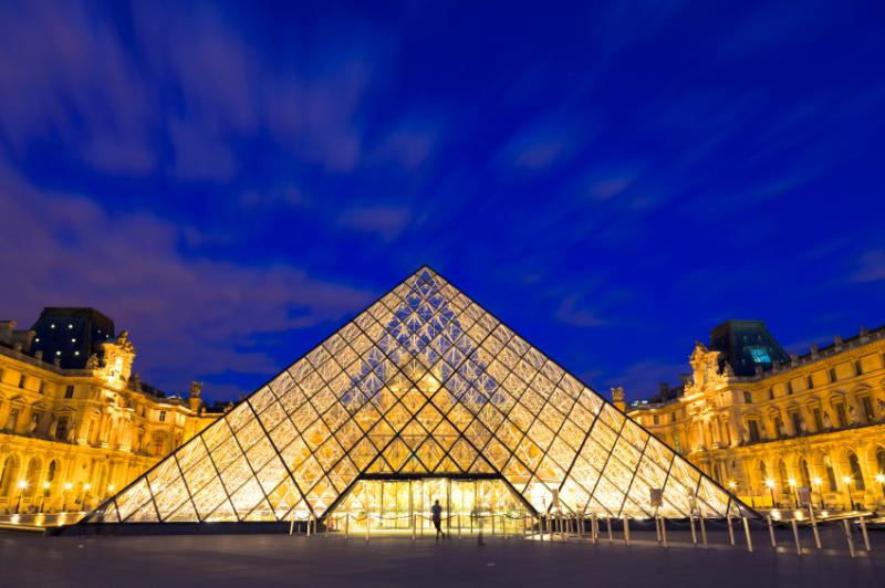 You are just minutes from the Louvre Museum