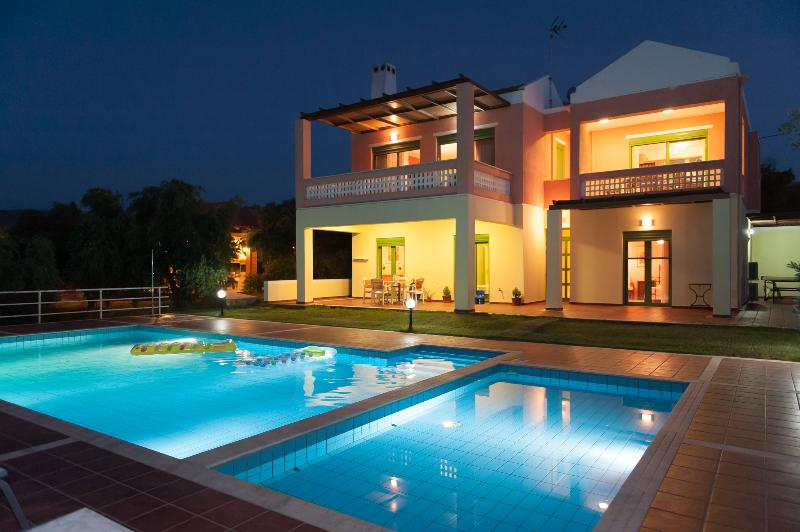 Villa Panorama by night