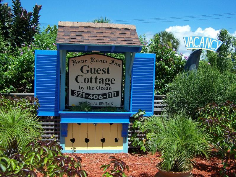 Our little Cottage sign.