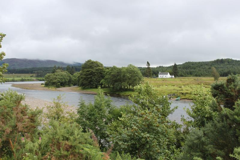 ivy cottage from the Caledonian canal