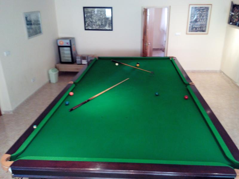 Games Room ,Full Sized Snooker Table, Darts, Mini Bar