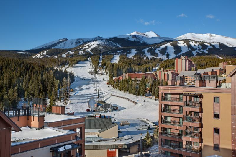 Choose Your Run on Peak Nine Breckenridge from Your 4th Floor Balcony