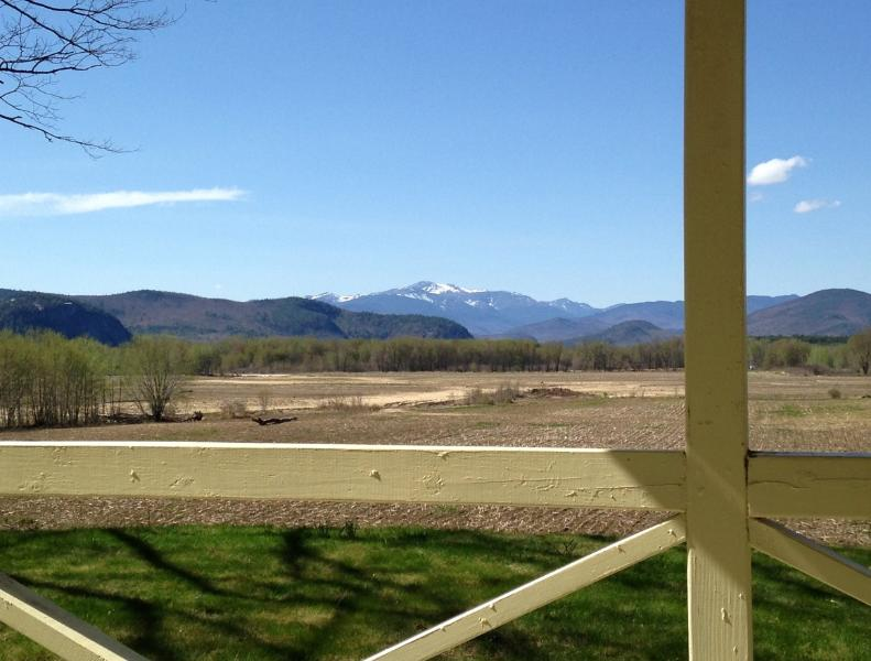 View of Mount Washington from Back Porch