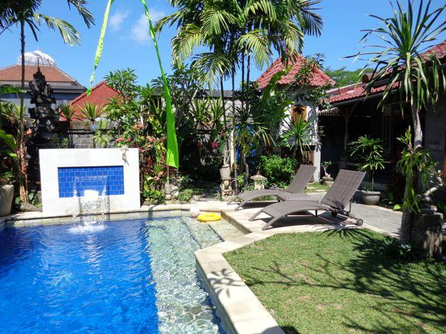 Angel Villa Mas Ubud. Relax, check emails or contemplate the view from the bale