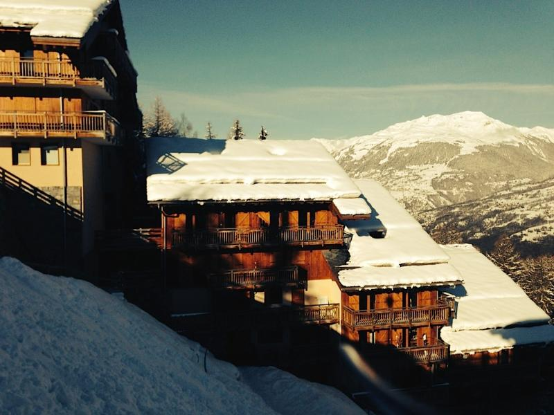 Winter in Les Coches