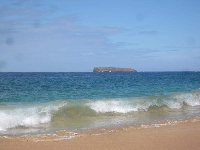 View of Molokini from Big Beach