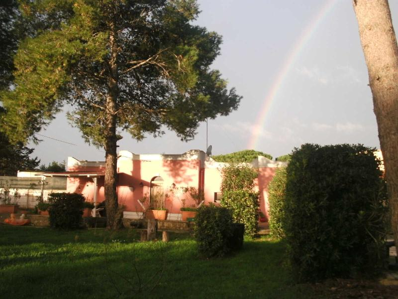 Villa Donna at sunrise, your home away from home, our dream come true!