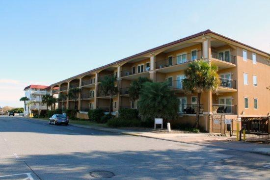 A deluxe vacation condominium thats just a short walk to the beach and downtown Tybee with a swimming pool and spa