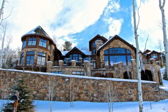 This Magnificent 14,000 Sq Foot Ski In/Ski Out Home in Beaver Creek - Ranked As One of Americas Top Ten Ski Homes in 2010 by CNBC