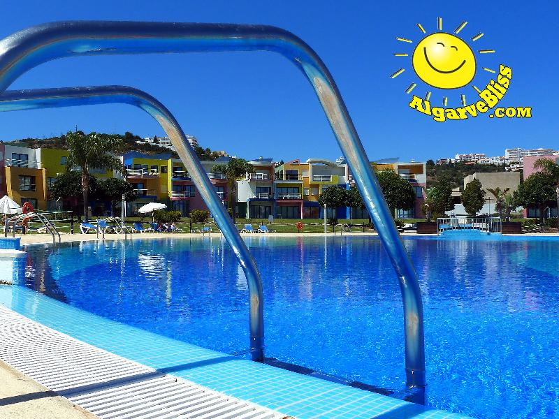 The most spacious pool in Albufeira and right beside the beautiful Marina