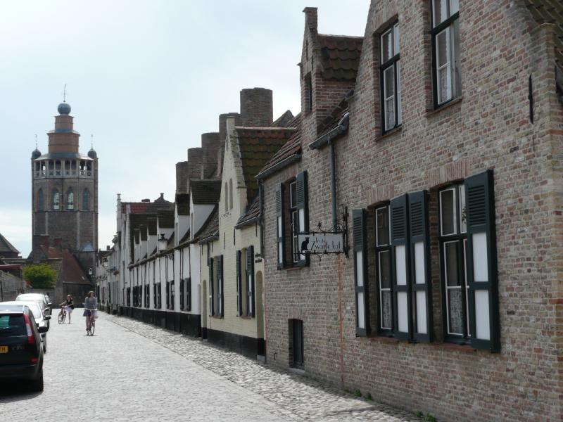 Bruges Folk Museum. 20 paces from The Red House
