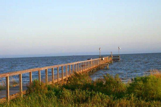 500 ft private lighted fishing pier