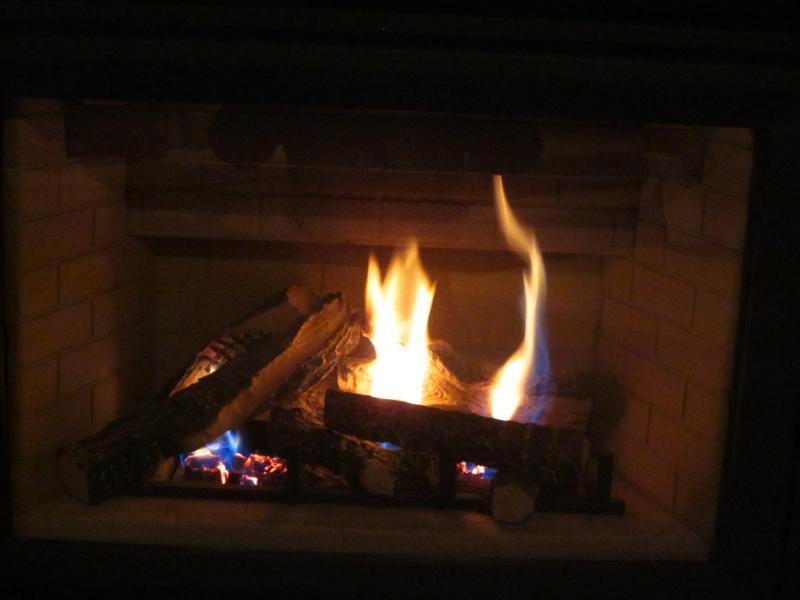 2 Cosy winter fireplaces