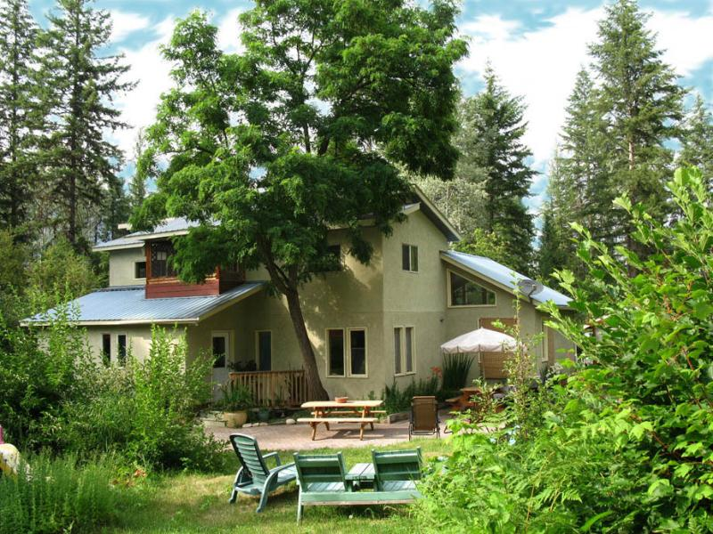 A Deluxe & Private Getaway in the Slocan Valley, located on a 3 acre setting.