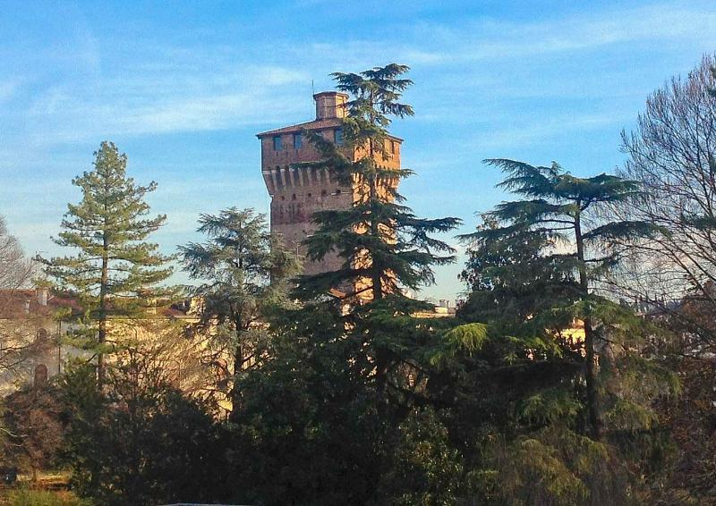View on Giardini Salvi and the Tower