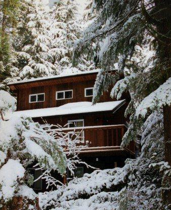 The front of Cabin 6