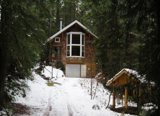The front of Cabin 25