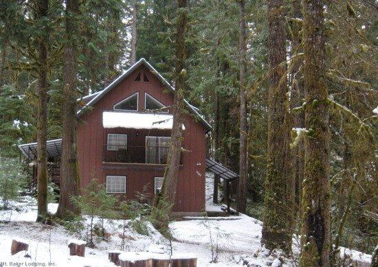 The front of Cabin 74