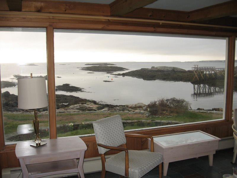 view from your living room at Beachcroft