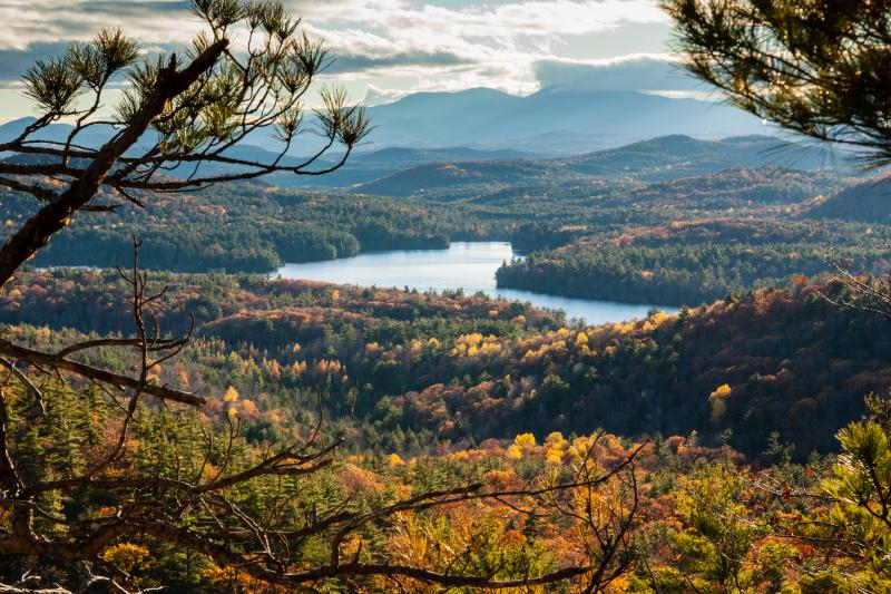Come to Beau Overlook to hike up RATTLESNAKE MT - you will be glad that you did!
