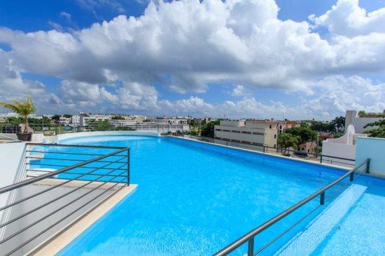 Condo Amalfi - Rooftop common areas - Vacation rentals Playa del Carmen