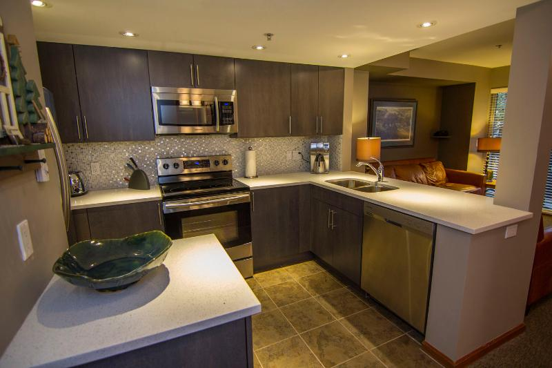Fully equipped, renovated kitchen