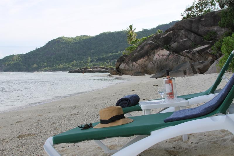 Our Beach is 1 of the best in the Seychelles! Enjoy it on one of our 12 sun loungers...