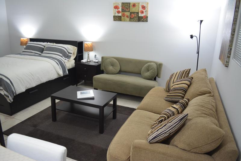 Living room- Love sit & sofa bed
