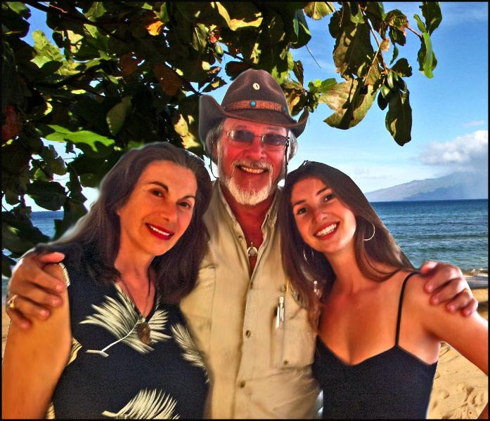 Luba & Fred & Leah your hosts at AlohaResorts.Net